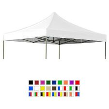 California Palms EZ Pop Up Canopy Tent Replacement Top Caravan Cover 10x10x15x20