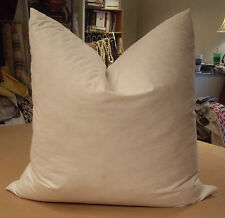DESIGNER FEATHER DOWN SQUARE PILLOW INSERT - 4 SIZES TO CHOOSE FROM!!