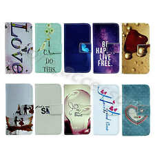 For Samsung New Fashion Tide Faux PU Leather Card Stand Holder Wallet Case Cover