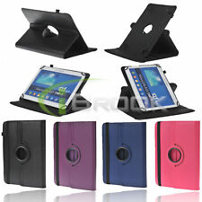 Folio Rotating Case PU Leather Stand Cover for ASUS MeMO Pad 10 Inch RCA Tablet