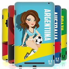 HEAD CASE FOOTBALL PIN UPS SILICONE GEL CASE FOR ASUS GOOGLE NEXUS 7