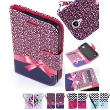 For Samsung Galaxy S4 Cell Phone Case Hybrid PU Leather Wallet Pouch Flip Cover
