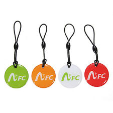 Round NFC Tag Android label Smart Stickers Keychain Per Mobile Phones