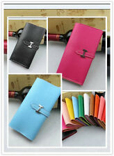 Spectacular Fashion CROCO Genuine Leather Lady Women Long Wallet Card Coin Purse