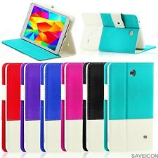 For Samsung Galaxy Tab 4 7 Colorful Folio Hybrid Case Cover Stand Nook SM- T230