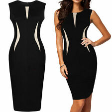New Women Summer Bodycon Pencil Cocktail Evening Party Dress PLUS SIZE 810121416