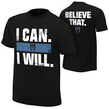 Roman Reigns I Can Will Believe That WWE Authentic Mens T-shirt