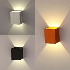 Modern 3W LED Square Wall Lamp Hall Porch Walkway Living Room Light 3 Stile