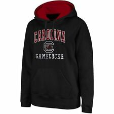 South Carolina Gamecocks Arch & Logo Mascot Pullover Hoodie - Black - NCAA