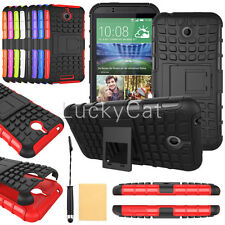 Hybrid Shockproof Impact Dual Layer Heavy Duty kickstand Case for HTC Phone