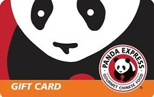 Panda Express Gift Card $25/ $50/ $100 US Mail Delivery