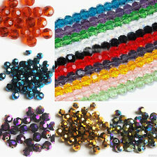 Hot Sale! Czech Glass Round Loose Spacer Beads Abstract Colors 3/4/6/8mm DIY