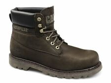 Caterpillar COLORADO Mens Nubuck Leather Welted Lace-Up Work Boots Tmoro Brown