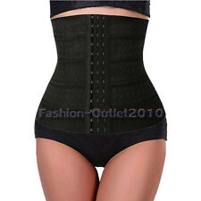 UK Hot Waist Training Cincher Underbust Corset Body Shaper Elasticated Band T3
