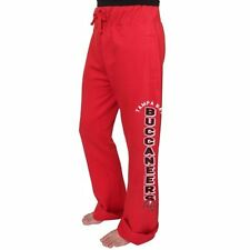 Tampa Bay Buccaneers Junk Food Women's Boyfriend Fleece Pant - Red - NFL