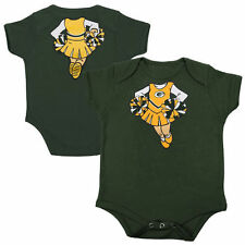 Green Bay Packers Girls Infant Cheerleader Dreams Creeper - Green