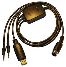 Data Mode Cable for Kenwood Transceivers with 13-pin DIN Accessory Connector