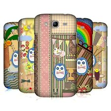 HEAD CASE SCRAPBOOK PENGUIN CASE FÜR SAMSUNG GALAXY MEGA 5.8 I9152