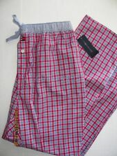 NWT Mens Tommy Hilfiger Lightweight Cotton Dorm Sleep Lounge Pajama Pants