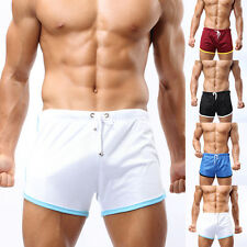 Men's Running Lightweight Breathable Pants Essential Yoga Sports Casual Shorts