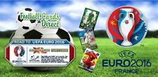 Panini Adrenalyn XL Road To UEFA Euro 2016 - Logos/ One To Watch and UEFA Cards