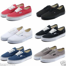 Van Classic Casual Canvas Shoes Trainer Athletic Sneakers Lace up UK 6-UK 9.5