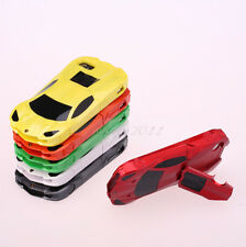 """3D Cool Racing Car Model Hard Case Cover with Stand  for iPhone 4S /5 5S/6 4.7"""""""