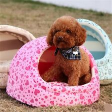 New Winter Warm Dog Puppy Cat Teddy Soft Pet Bed Slippers Kennel Pet Mat House H