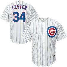 Men's Majestic Jon Lester White Chicago Cubs Cool Base Player Jersey - MLB