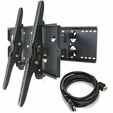 "BRAND NEW DUAL ARM TV WALL MOUNT for SONY SCREENS up to 85"" in Size +HDMI Cable"