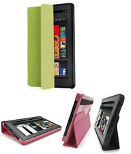 iLuv IAK507 Epicarp Slim Folio Cover for Kindle Fire, Black, Green, Or Pink, New