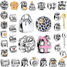 925 Silver Beads Birthday Party Best Gifts Fit Fashion European Charm Bracelets