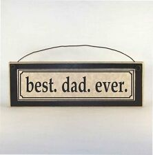 best. dad. ever. sign plaque made in the USA! Father's Day gift ideas for him