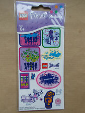 NEW GIRLS LEGO FRIENDS STICKER PACK, 24 STICKERS PARTY FAVOURS PARTY BAG FILLERS