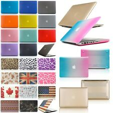 "Rubberized Hard 13"" Laptop Case Cover For apple Macbook Air Pro Retina 13.3 inch"
