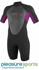 O'Neill Reactor Springsuit Junior Wetsuit 2mm Youth-Black/Pink BEST SELLER