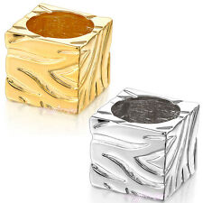 Gold/silver color Square ring unisex woman/man ring fashion jewelry R867 R868