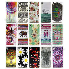Multicolor Nice Patterned Soft TPU Case Silicone Rubber Cover For Smart Phone#YT