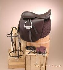 "Lane Fox SaddleSeat Package Havana Brown Leather (17"",18"",19"",20"",21"")"