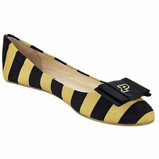 Purdue Boilermakers LillyBee U Womens Removable Bow Flats - College