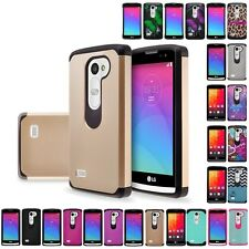 LG Leon C40 / Power L22C / Destiny L21G Hybrid Hard Astro Armor Case Phone Cover