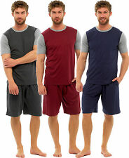 MENS PYJAMA PJ SET LOUNGE/SLEEP WEAR NIGHT SUIT T-SHIRT AND SHORT SET