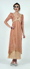 Nataya Dress Empire Style  40007 Classic NWT RoseGold New Color for 2013 Sz XL