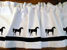 Arabian Arab Horse Window Valance *Your Choice of Colors* Our Original!