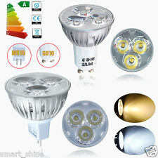 4 10 20x GU10 MR16 4W LED Bulbs Spotlight Warm/ Day White Light Spot Lamp Bright
