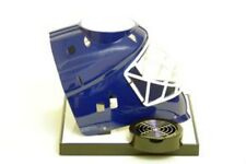 Beer Tubes Hockey Blue Goalie Mask Drink Dispenser, Customize Tube and Tap