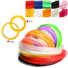 Mini 5M 3D Printer Filament 1.75mm 3mm ABS / PLA RepRap MarkerBot Doodle Sales