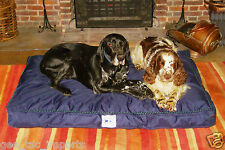GEE TAC QUALITY WASHABLE HARD WEARING DOG BED  HEAVY FILL WATERPROOF PET PILLOW