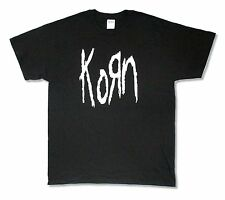 "KORN ""OLD SCHOOL 2014 TOUR MILWAUKEE - EL PASO"" BLACK T-SHIRT NEW OFFICIAL ADULT"