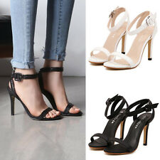 Womens High Heels Toe Pumps Platform Strappy Stiletto Work Party Shoes Sandals